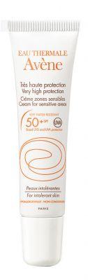 Авен Минерален крем за чувствителни зони SPF50+/Avene Mineral cream for sensitive areas SPF50+ 15ml