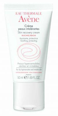 Авен Обогатен крем за нетолерантна кожа D.E.F.I./Avene Skin recovery cream rich 50ml