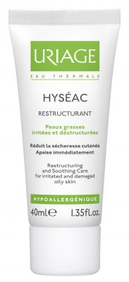 Уриаж Хисеак реструктуриращ крем/Uriage Hyseac restructuring cream 40ml