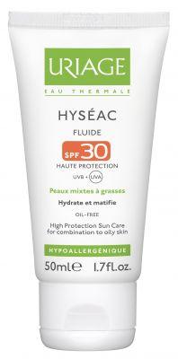Уриаж Хисеак флуид SPF30/Uriage Hyseac SPF 30 fluide 50ml