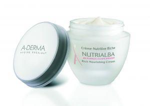 А-дерма Нутриалба обогатен крем/A-derma Nutrialba Crème Riche 50ml