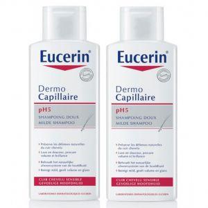 Еусерин шампоан за чувствителен скалп/Eucerin Dermo Capillaire pH5 shampoo 250ml