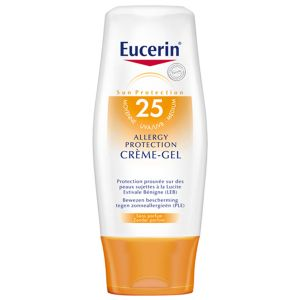 Еусерин крем-гел против слънчеви алергии SPF25/Eucerin sun creme-gel SPF25 150ml