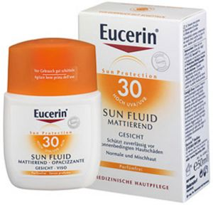 Еусерин матиращ флуид SPF30/Eucerin sun fluid SPF30 50ml
