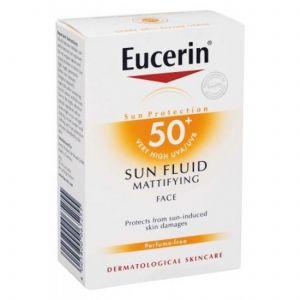 Еусерин матиращ флуид SPF50+/Eucerin sun fluid SPF50+ 50ml