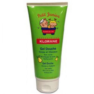 Клоран джуниър душ-гел круша/Klorane junior gel douche pear 200ml