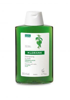 Клоран шампоан Коприва/Klorane shampoo nettle 200ml 400ml