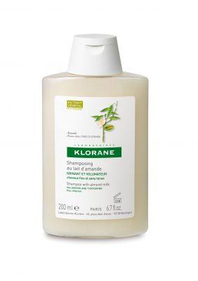 Клоран шампоан Бадем/Klorane shampoo Amande 200ml 400ml