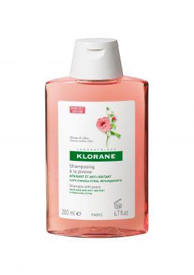 Клоран шампоан Божур/Klorane shampoo Pivoine 200ml 400ml