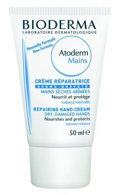 Биодерма Атодерм крем за ръце/Bioderma Atoderm hand cream 50ml