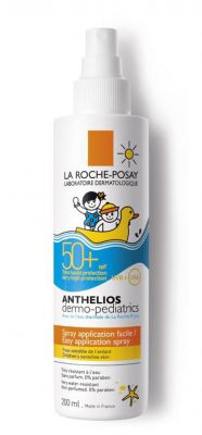 Ла Рош Позе Антелиос дермо-педиатрик спрей SPF50+/La Roche-Posay Anthelios spray SPF50+ 200ml