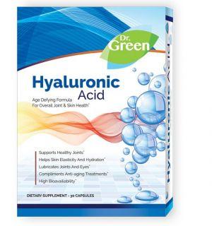 Др. Грийн Хиалуронова киселина/Dr. Green Hyaluronic acid 50mg * 30caps.