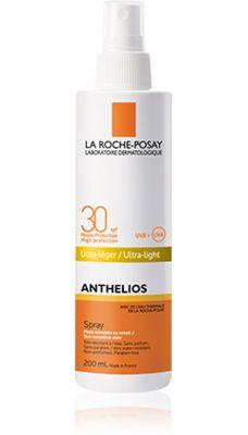 Ла Рош Позе Антелиос спрей SPF30/La Roche Posay Anthelios spray SPF30 200ml