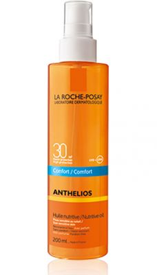 Ла Рош Позе Антелиос Комфорт олио SPF30/La Roche-Posay Anthelios Comfort oil SPF30 200ml