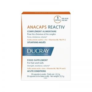Дюкре Анакапс реактив капсули/Ducray Anacaps reaktiv capsule 30caps.