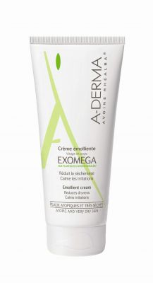 А-дерма Екзомега крем емолиент/ A-derma Exomega cream 200ml 400ml