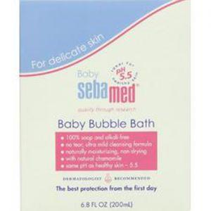 Себамед Бебе пяна за вана/Sebamed baby bubble bath 200ml 500ml 1000ml